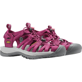 Keen Whisper Sandalias Mujer, beet red/honeysuckle
